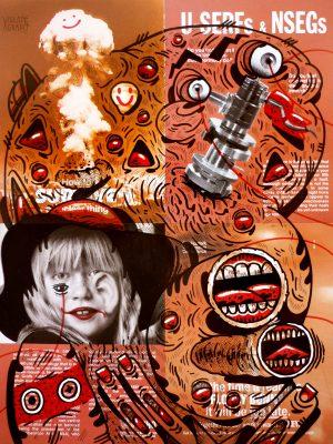 vicenteaguado vicente aguado deepstateshop deepstate deepstate.es drawing illustration painting originalartwork portrait undergroundart outsiderart surrealism pop popart